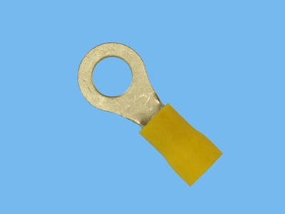 Blade connector ring m6 yellow a4665r