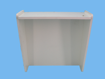 Plaque b 55 xh40 + White Canopy