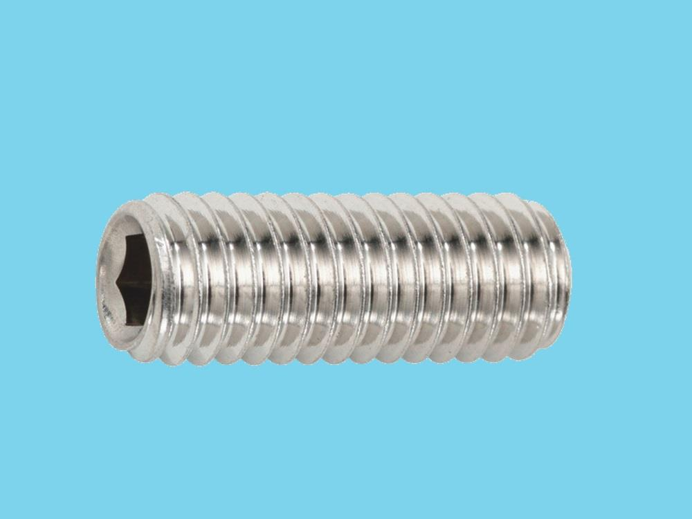 Set screw M8x16 stainless steel six sides