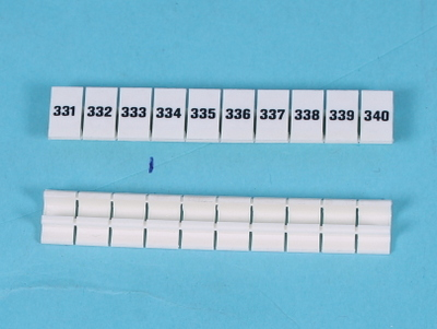Numbering strips zb 6-lgs- 331-340