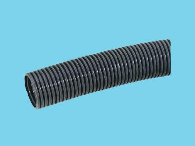 Ribbed protection hose 12x15.8 mm black