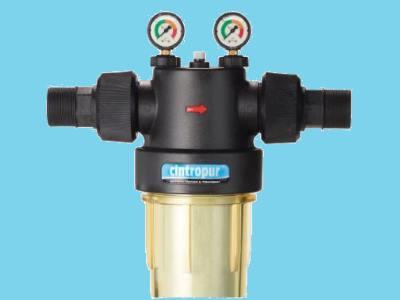 Cintropur liquid lter, NW 500, 2, 2 external thread, 18,000