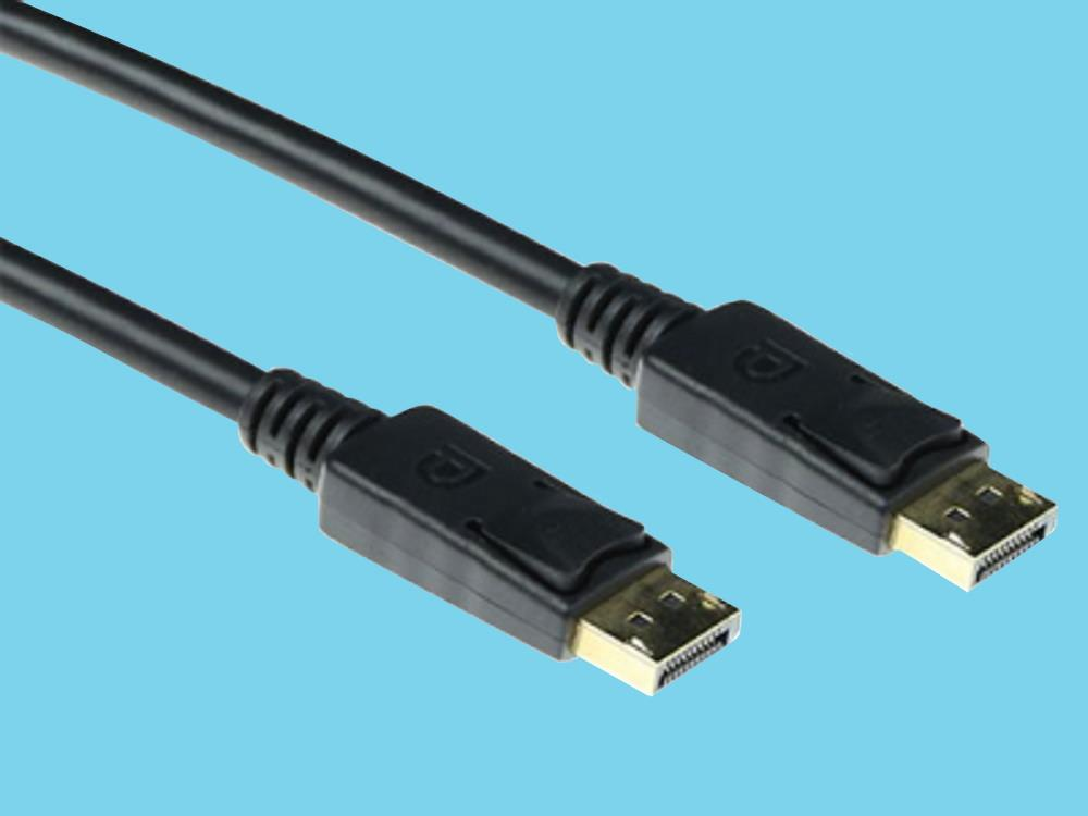 DisplayPort male x male ACT cable 2 meter