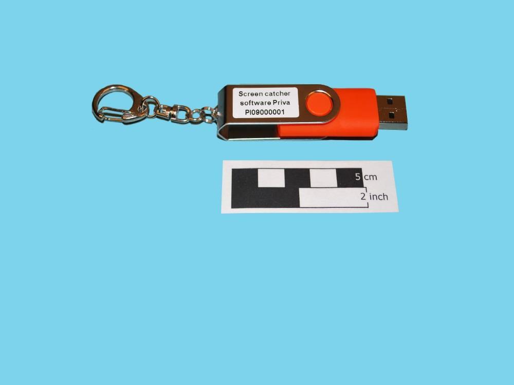 Priva screen catcher software (Fan Controller) (USB stick