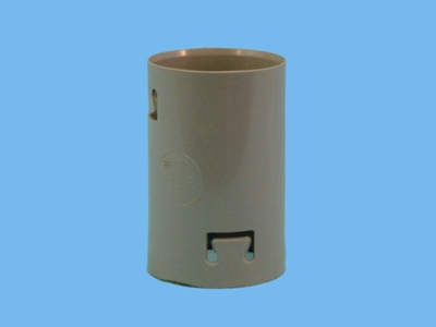 PVC sleeve (snap-on connection) 80mm
