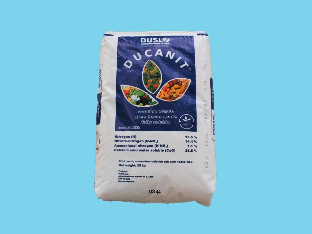 Calcium nitrate 25kg/bag 1200kg/plt   Global specialist in