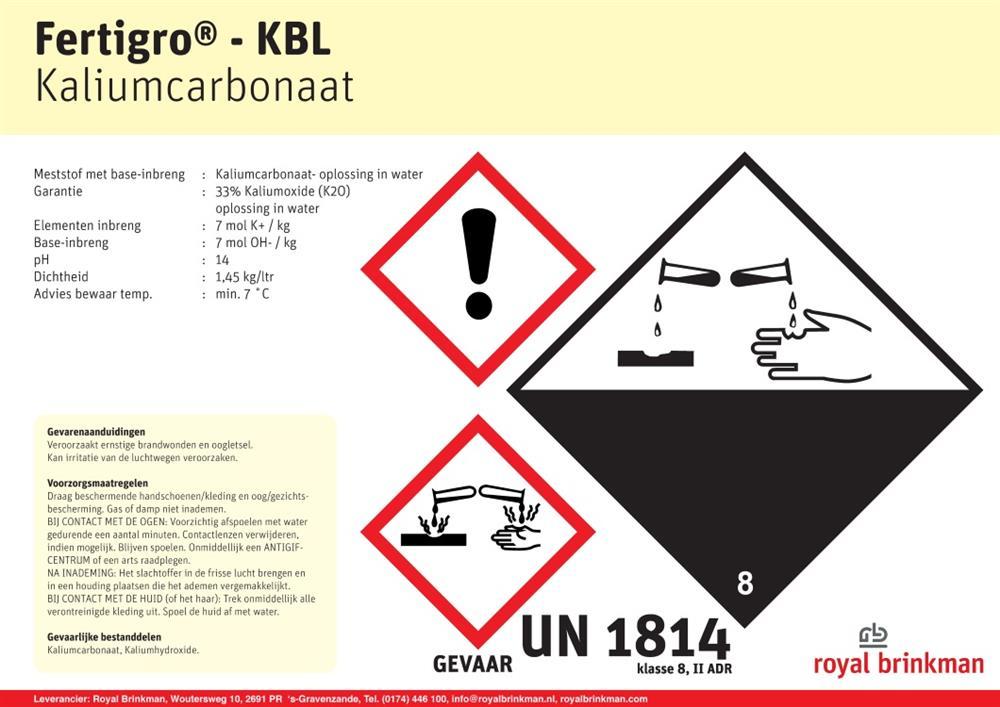 Fertigro KBL IBC 1034 l/1500 kg