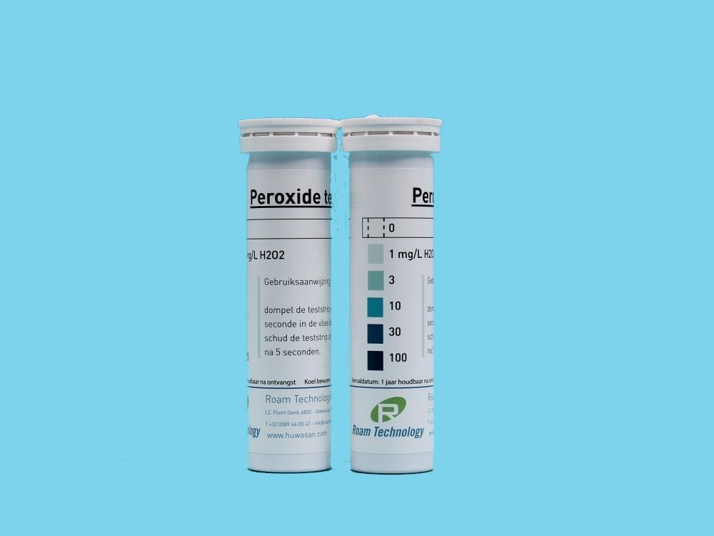 Hydrogen Peroxide test strips 0-100 ppm