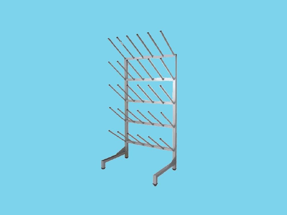 Stainless steel Boots and Shoe Rack (30 pairs)
