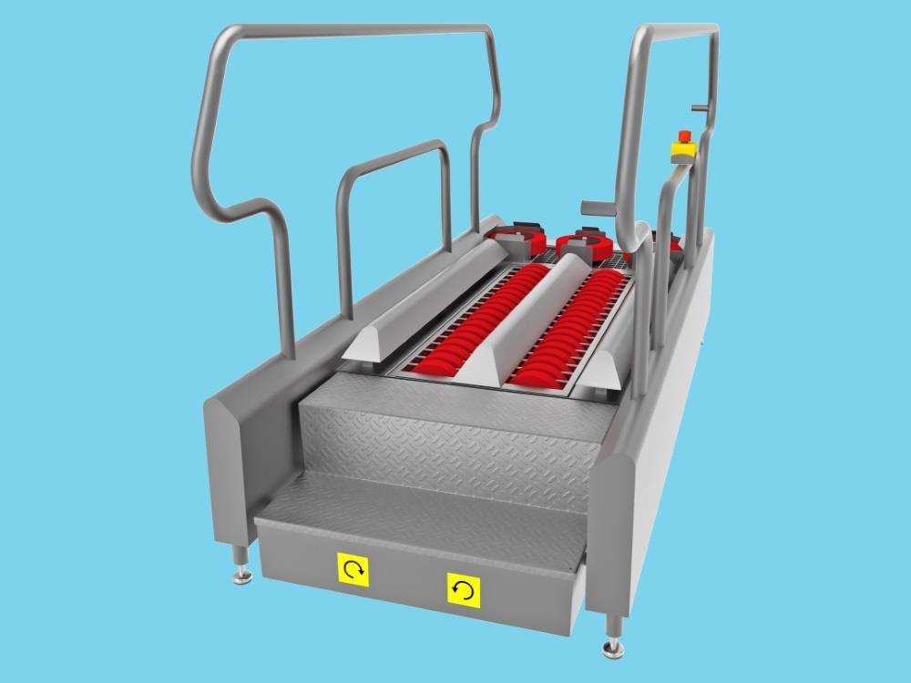 Sole cleaner DR1400 V70 400V 0.5 Kw
