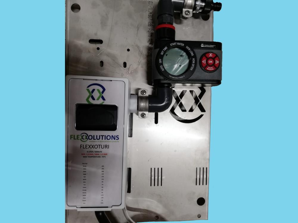 Venturi pump [for Flexxomat] with timer