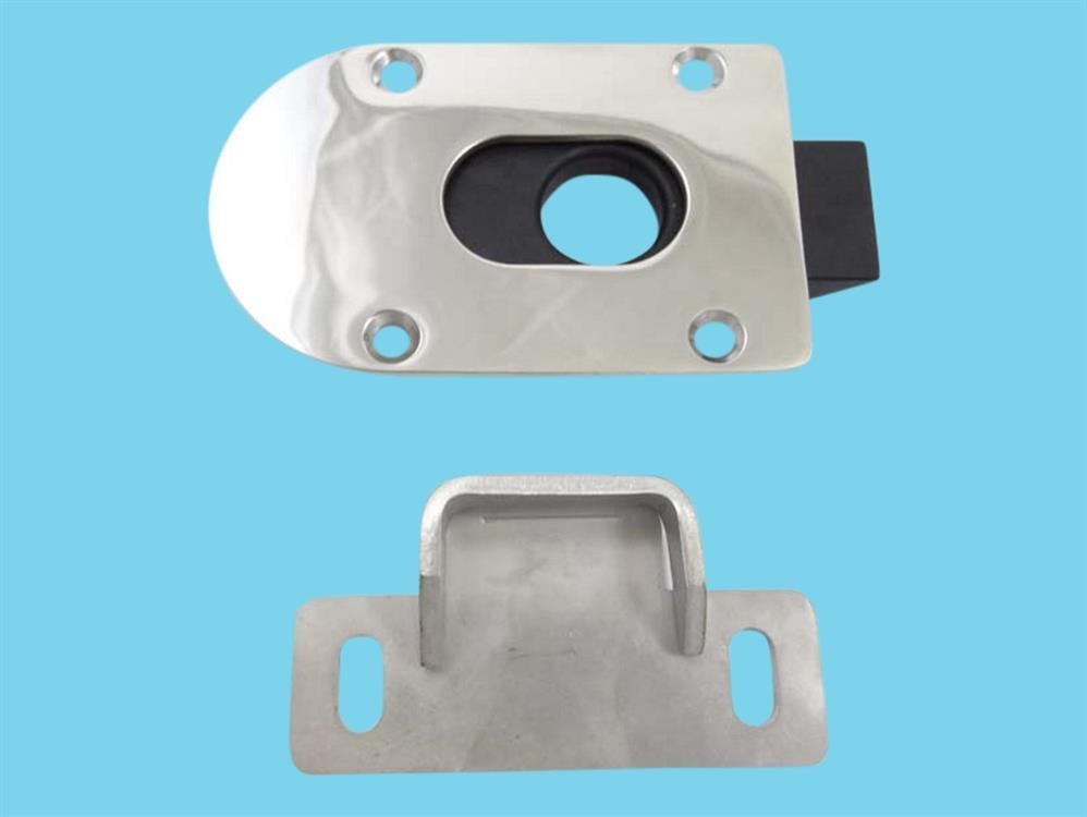 slide lock for motor compartment door