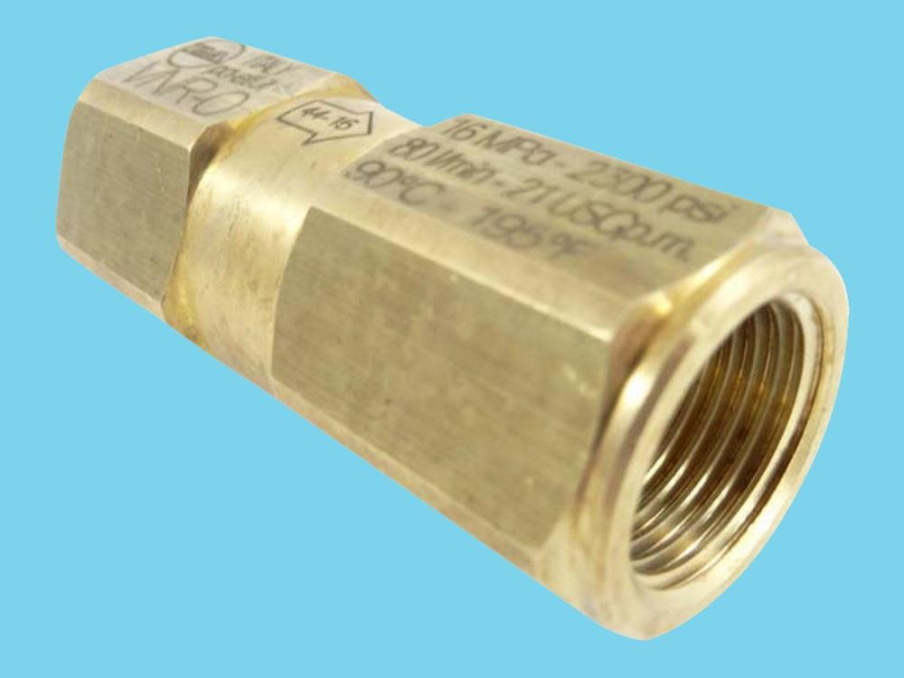 check valve water tap 1/2