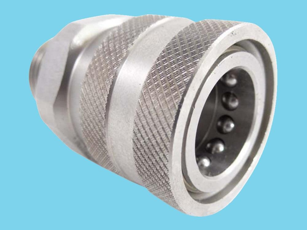 quick connect coupling female, threaded end 1/2