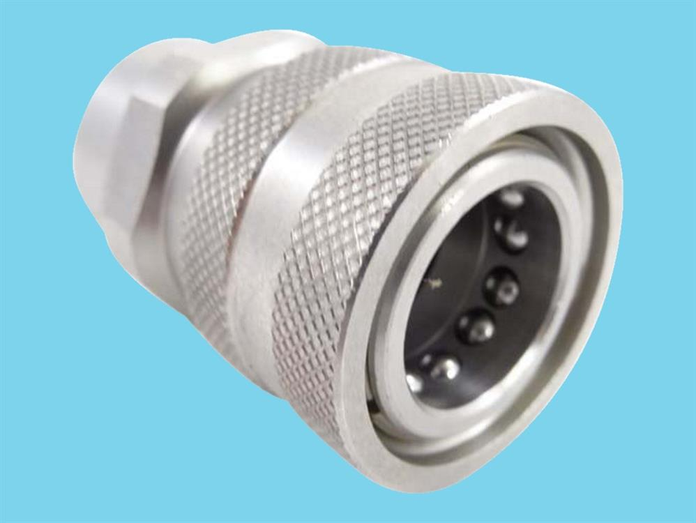 Stainless steel Quick coupling female 1/2
