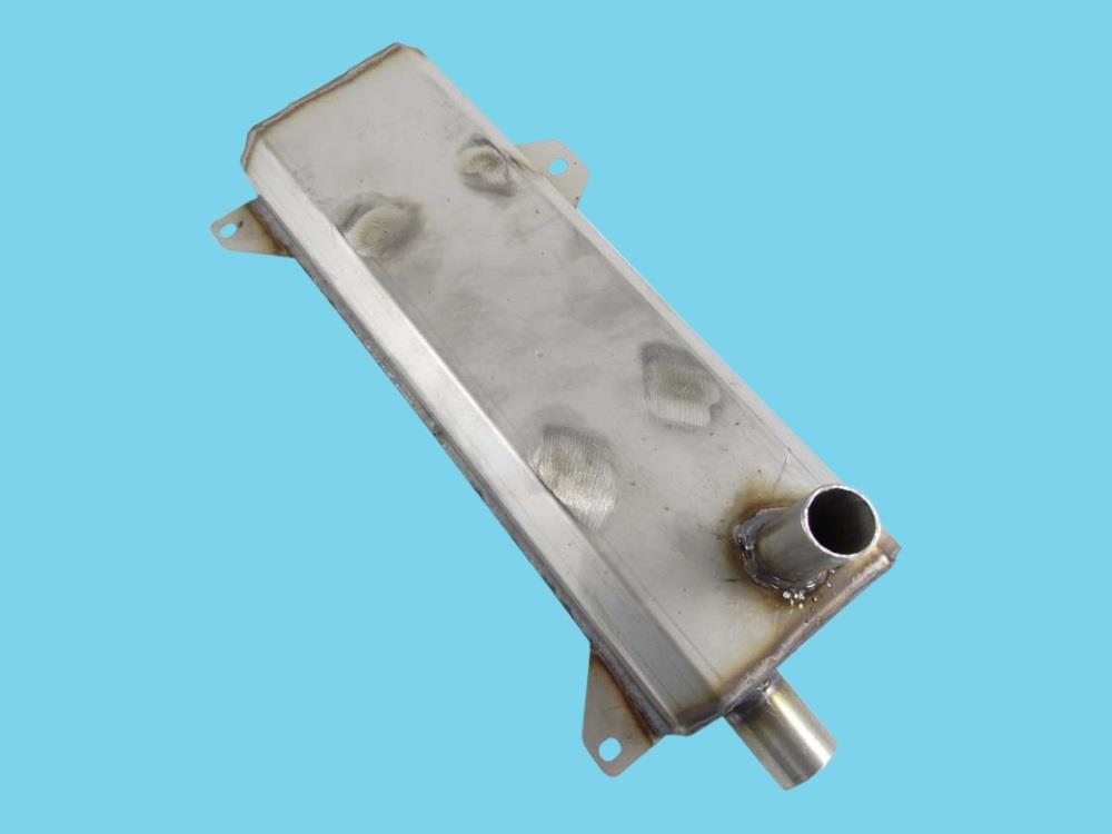 exhaust silencer stainless steel