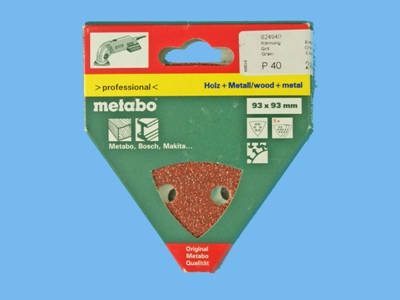 Metabo sanding sheet dse130 k80