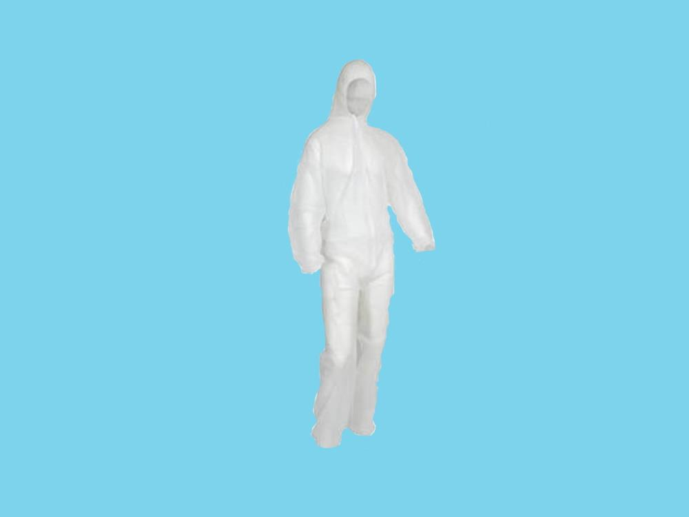Visitors overall polypropylene XXL white