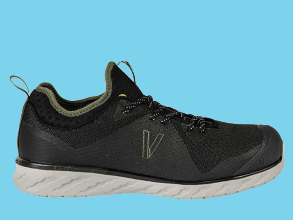 Work shoe VISMO extra light Reform S3 size 45 low black