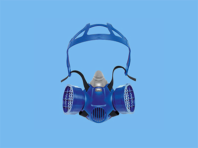 X-Plore 3300 half face mask Medium