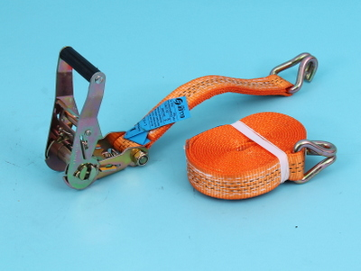 Two-piece lashing strap with ratchet 4,5mtr 35mm 1500/3000