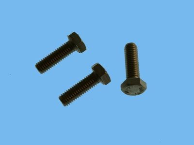 Stainless steel stud bolt 8x25mm