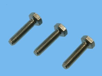 Elect galvanized 8.8 m stud 10x25 mm