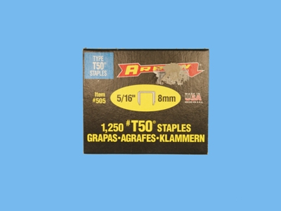 Staples 5/16-8mm t50 arrow 1250