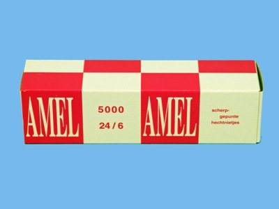 Rapid Staples '' Amel'' 24/6 copper plated 5M