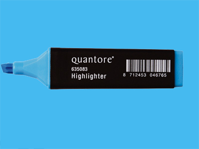 Highlighter Quantore blue (10)
