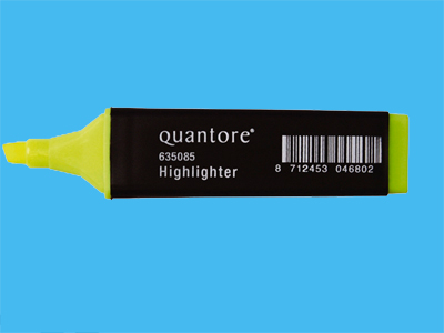 Highlighter Quantore yellow (10)