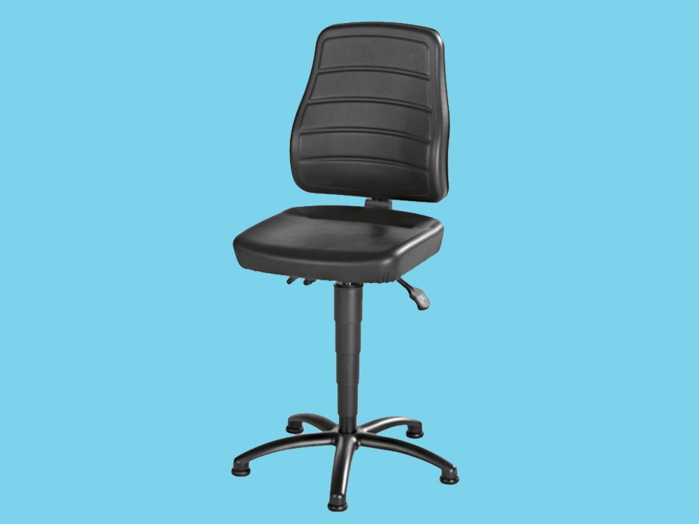 EUROKRAFT industrial swivel chair, with EUROKRAFT foot cap