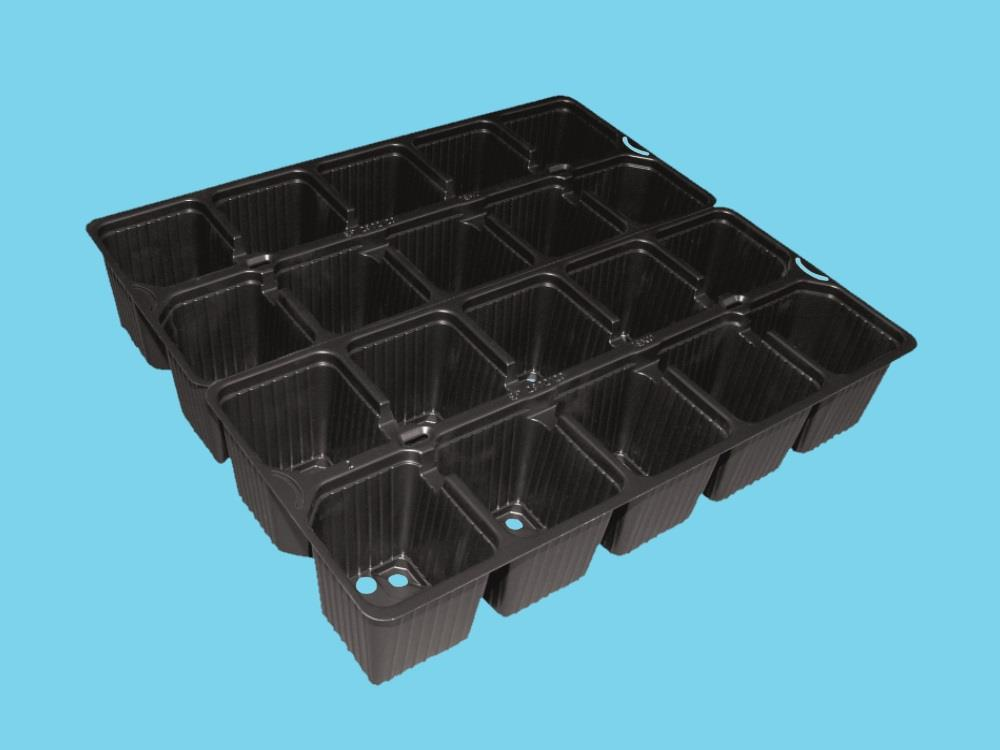 Teku tray EP 2832/20-10 black 3000 ep