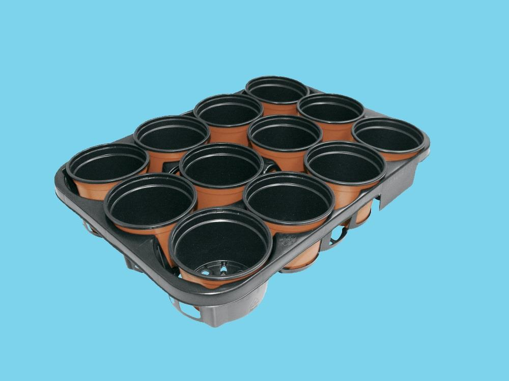Teku tray MS 8-13PE black 735 ep
