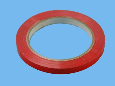 Tape red 9mm 66m