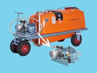 Georgia spray truck 1000ltr 90ltr/40bar-400V AB90 Empas