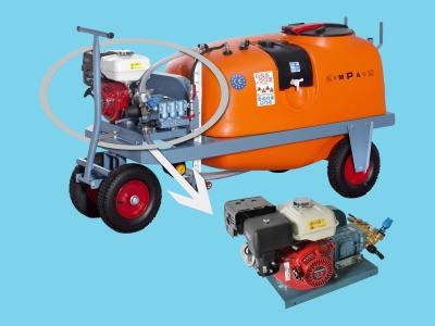 Georgia spraying trolley 600ltr 36ltr/50bar-Benzine CC Empas