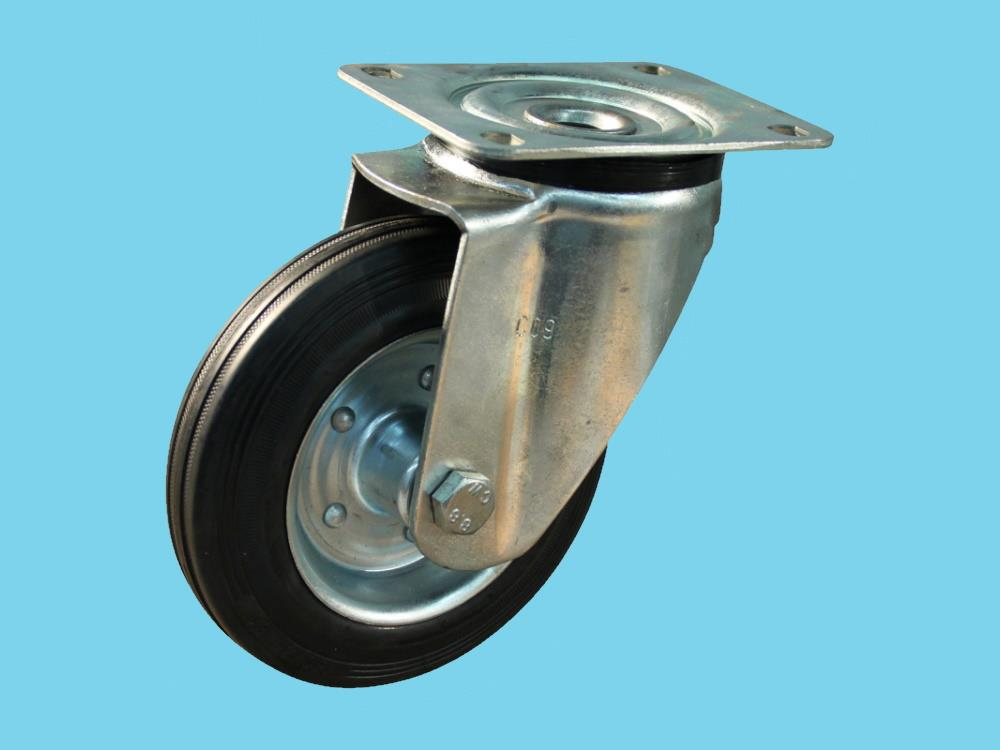 Wheel swivel160mm        black