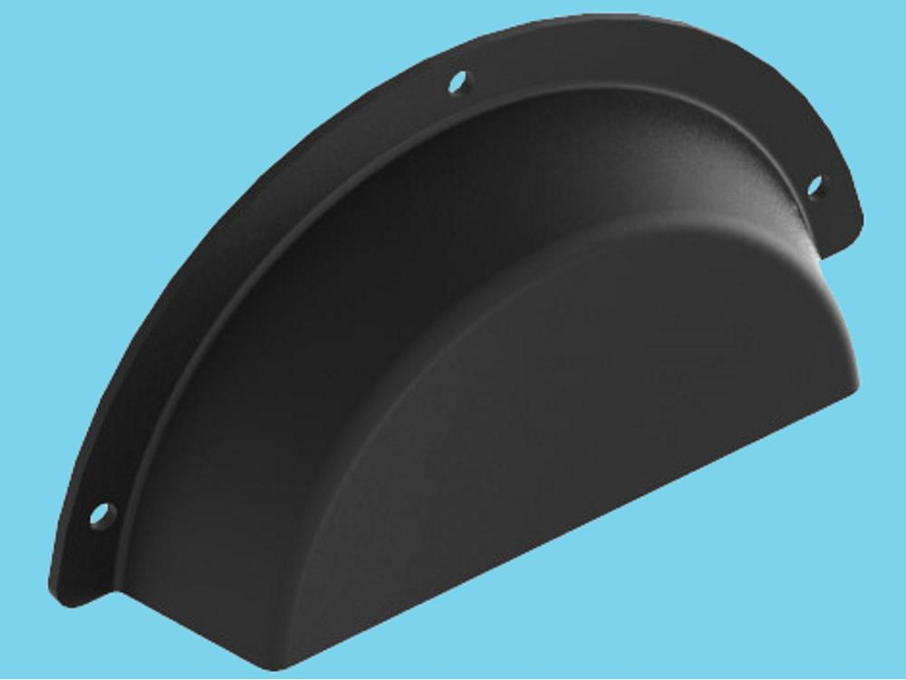 Chain guard black plastic