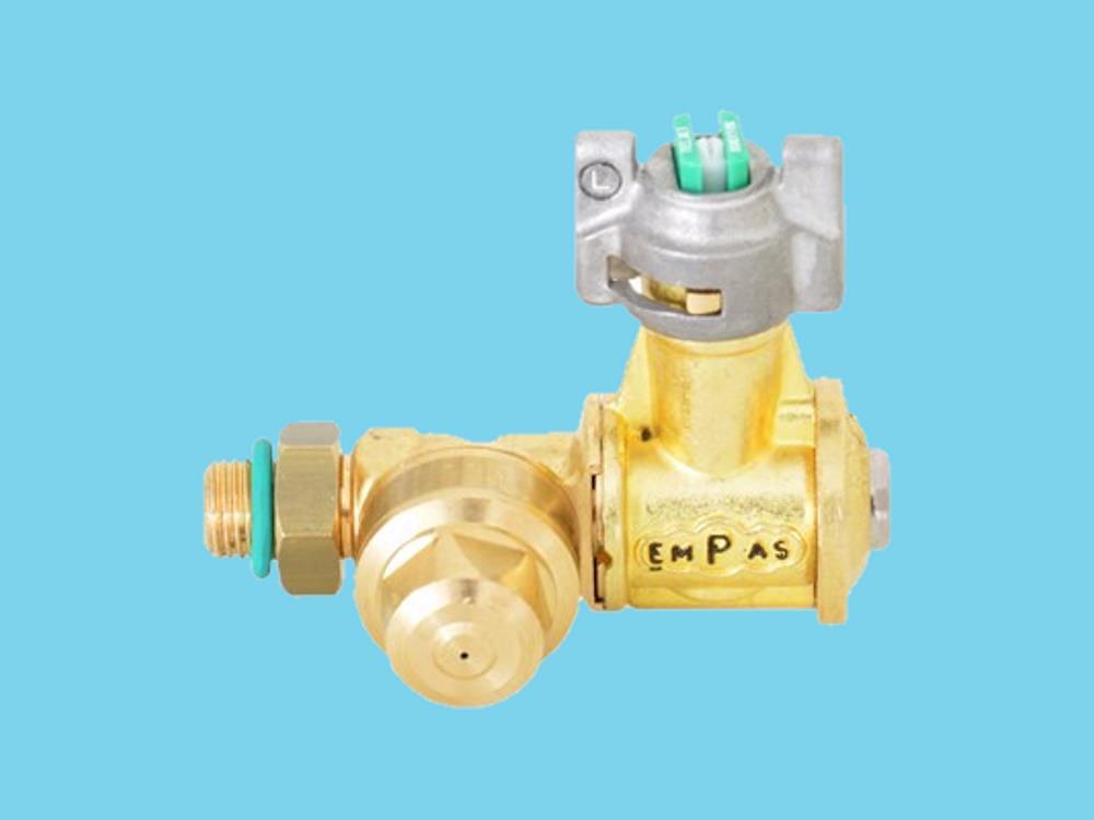 Split position nozzle complete 8002 VK yellow, left