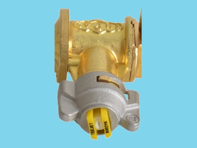 Split position nozzle complete 8002 VK yellow, right