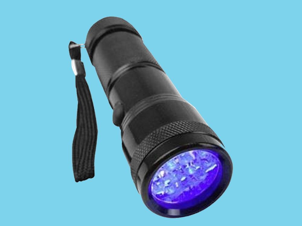 Berger & Schröter UV 395-400 nm UV-LED Flashlight With hand