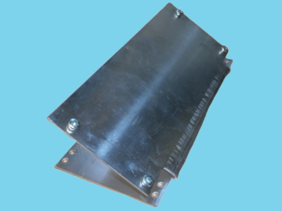 Mounting plate BR08I for Meto