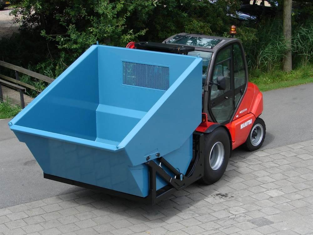Hydraulic crop waste container Giga Bio Chopper 5300 liter