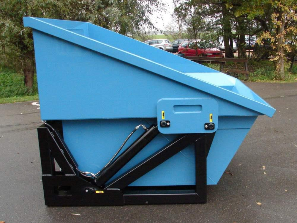 Hydraulic Waste Container Super Mega Bio Chopper 3800 ltr