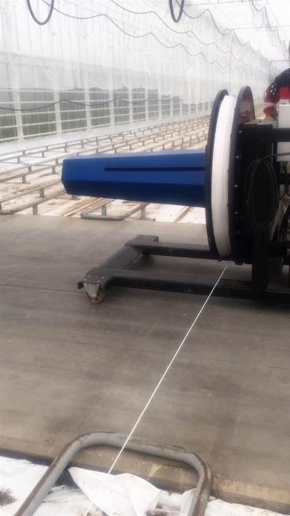 Rope reel Multiroller Compact-E