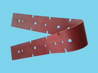 Front latex suction rubber CT15 - 536mm