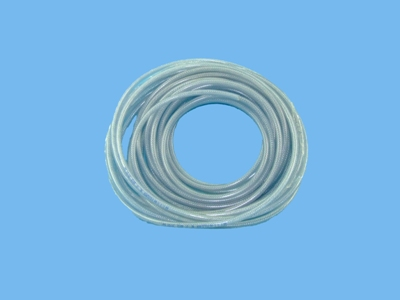 Hose 6-10mm transparant 50mtr