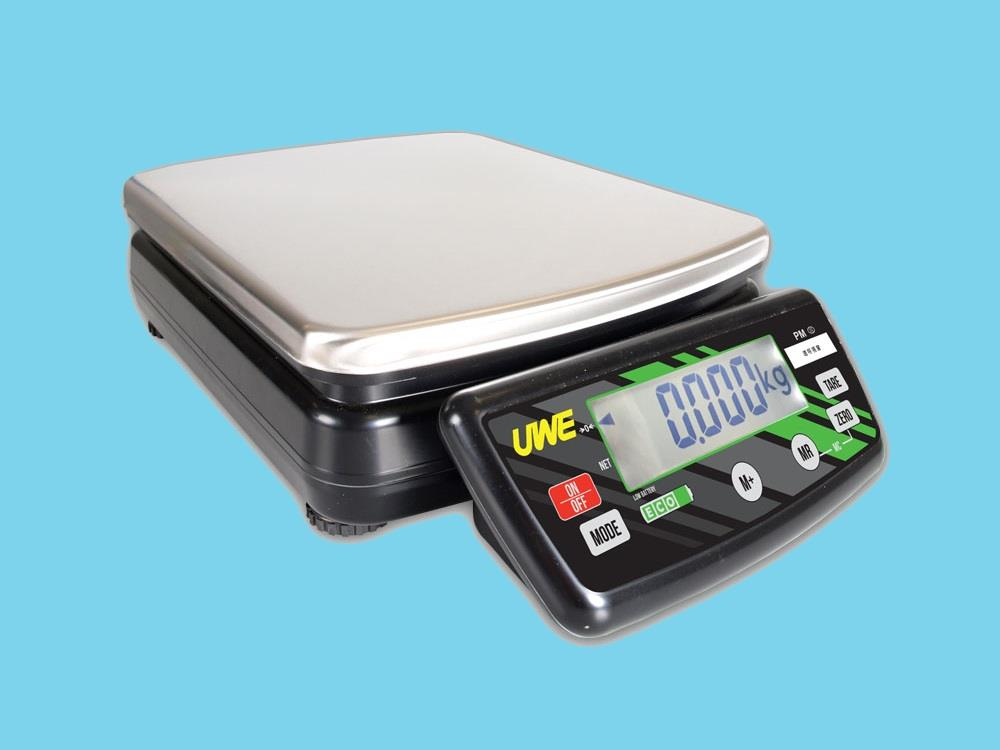 Scale PM-ECO battery 30kg 10g