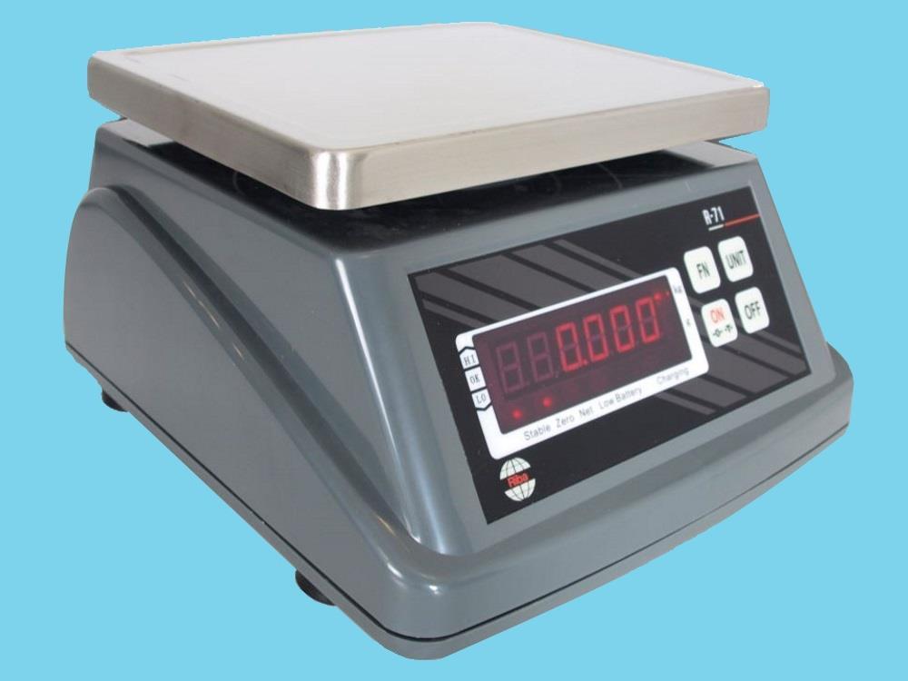 Scale Riba R-71 IP66 control (6kg-1g)
